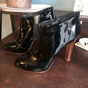 Tory Burch Black Leather Booties